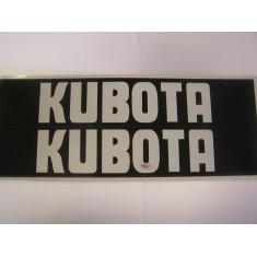 AUTOCOLLANT STICKERS CAPOT KUBOTA